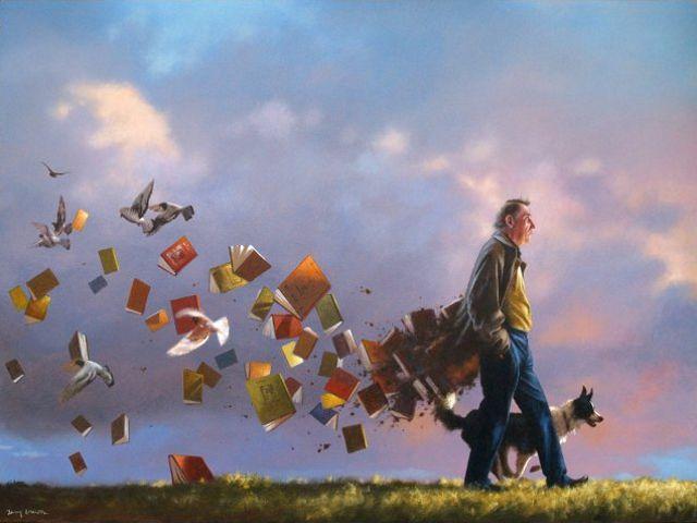 libros y poeta