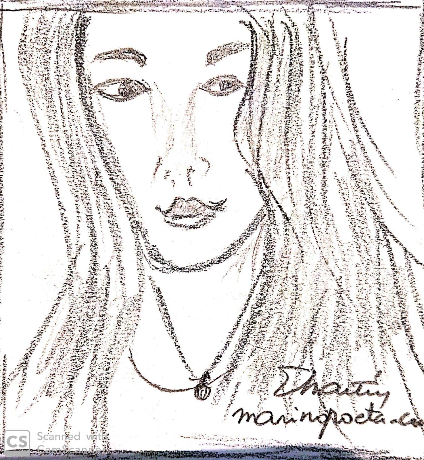 retrato de una amiga